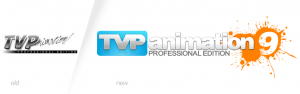 Before and after - tvpaint logo