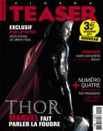 Couverture du 1er numero du magazine de cinema Cinemateaser