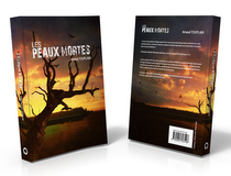 Book cover + flyer Les peaux mortes