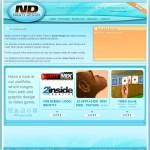 Naaty Design website - portfolio - content packs
